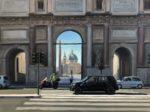 "Portal (Rome), 2020, oil on canvas, 36""x48"", unframed"