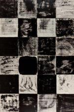 """Kay Kang, Untitled, mixed media on canvas, 72""""x48"""""""