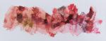 """Rebecca Haseltine  """"Range Red #3""""  24""""X60""""    2017"""