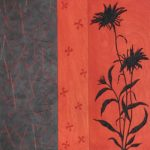 Steeno's Daisy - 20 in. x 20 in. - Mixed Media on Carved Wood Panel - Available