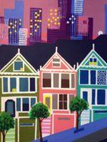 Painted Ladies- SF poster series