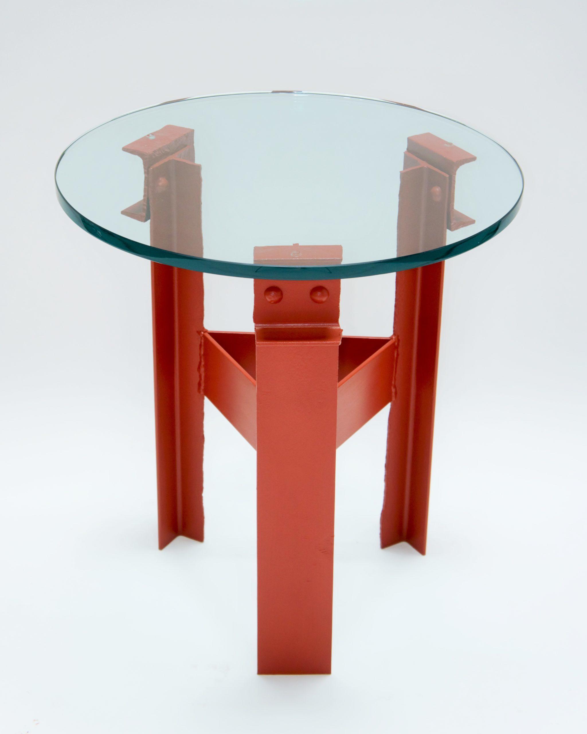 Golden Gate Bridge Steel - Side Table