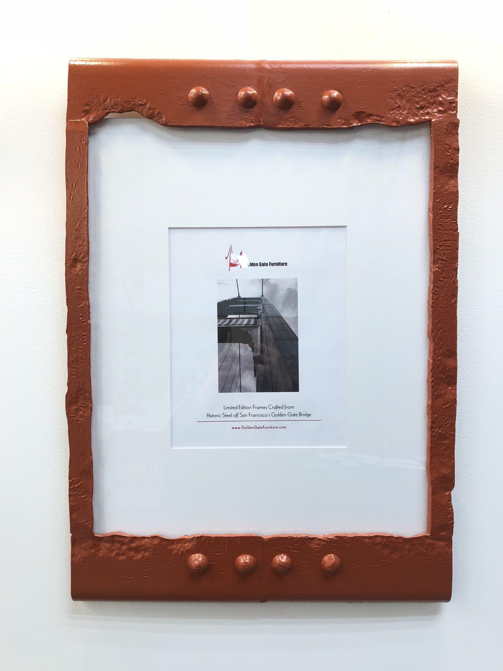 Golden Gate Bridge Steel - Octavia Picture Frame