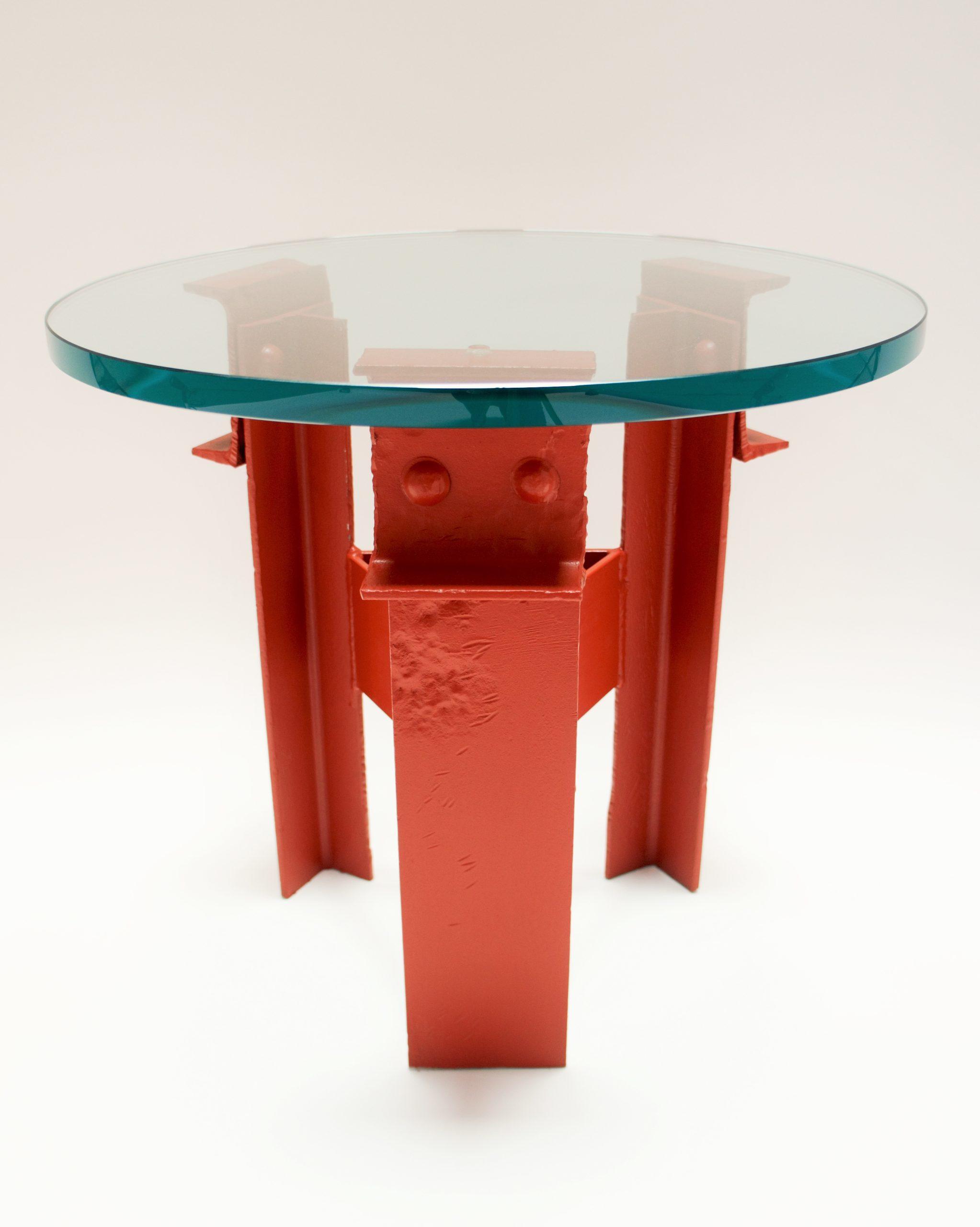 Golden Gate Bridge Steel - Tea Table