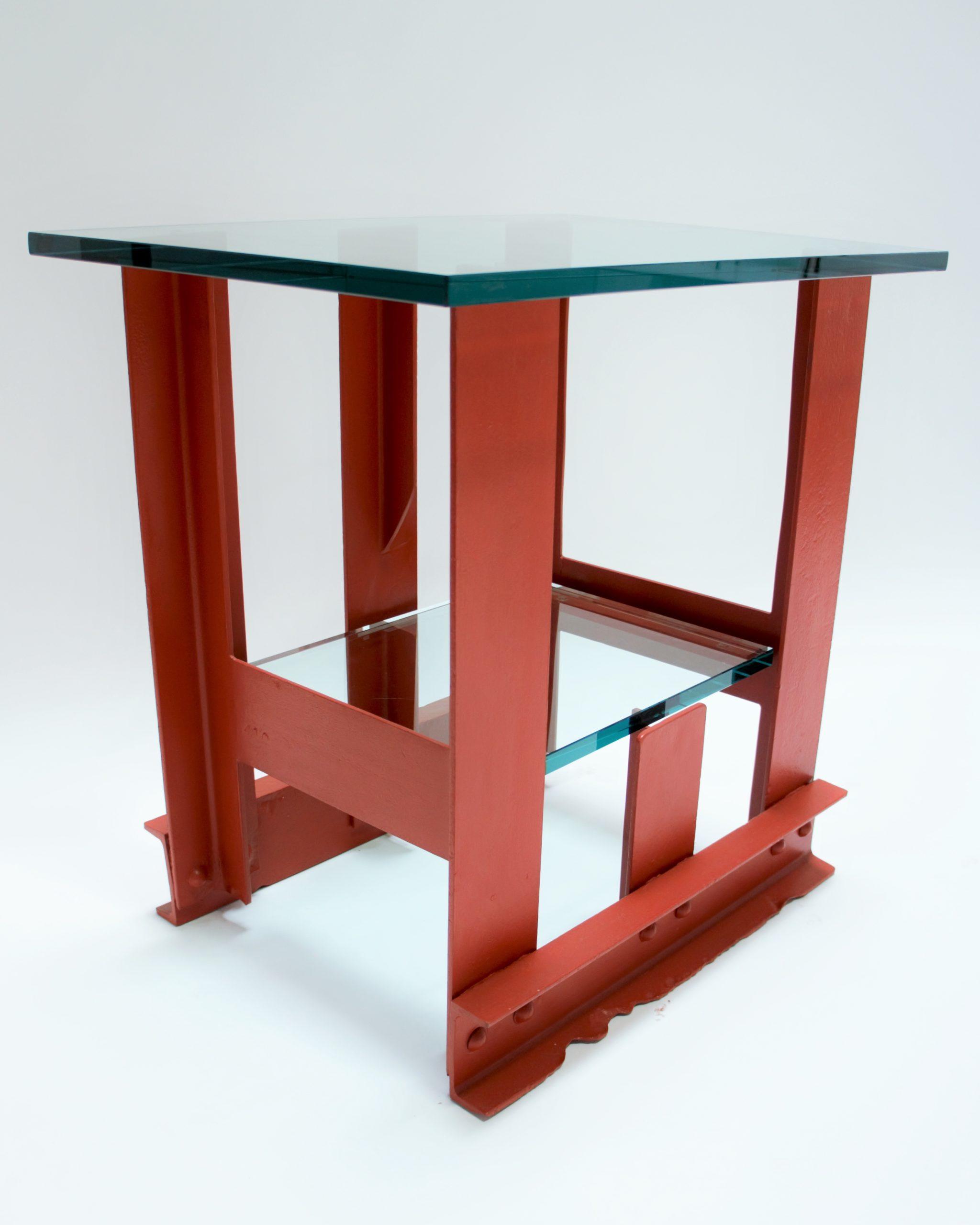 Golden Gate Bridge Steel - Night Table