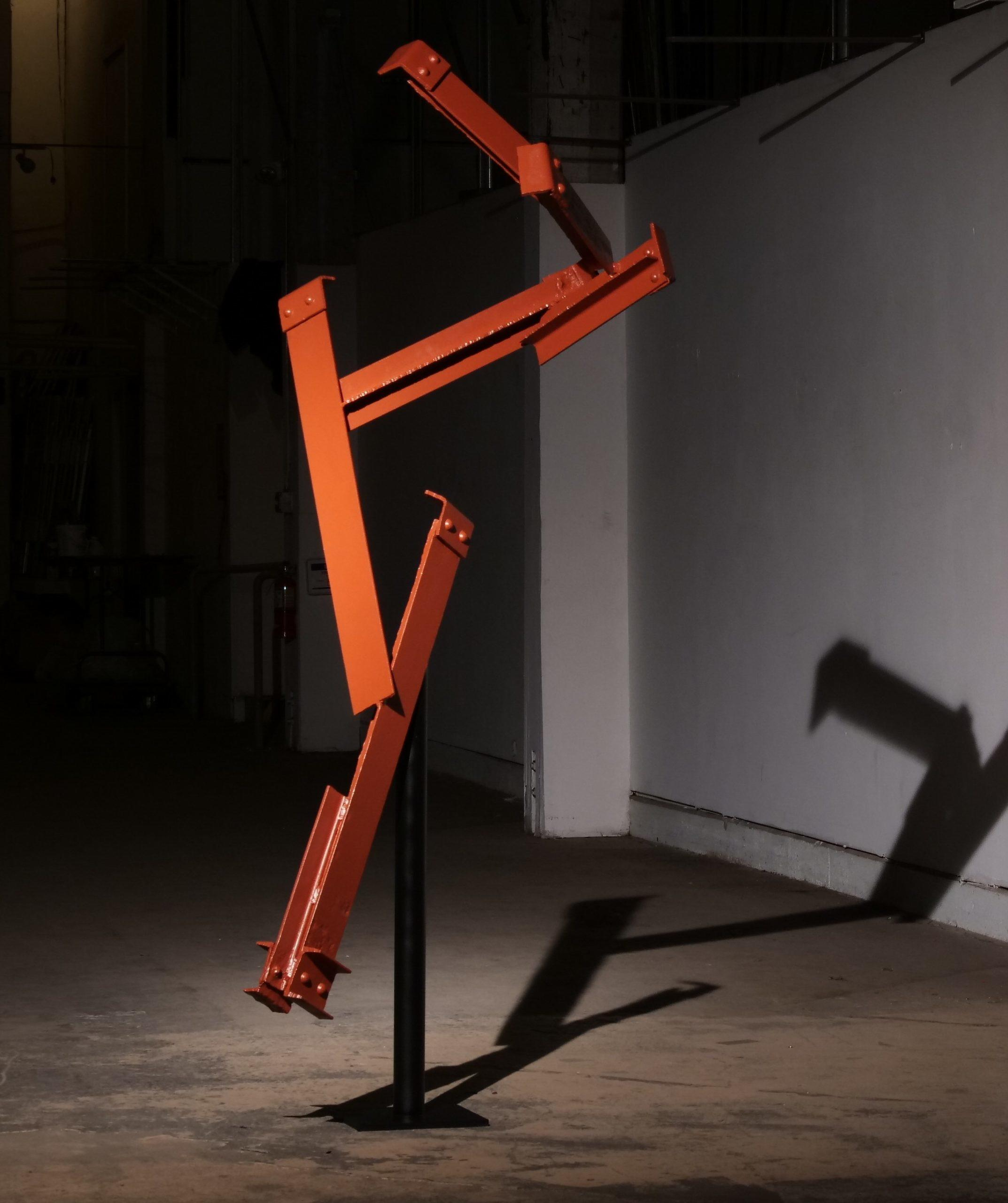 Golden Gate Bridge Steel - Kinetic Art Piece - Spinning Sculpture