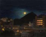 """Karen Wenger, """"Cabo Nocturne"""", 16"""" x 20"""", oil on canvas"""
