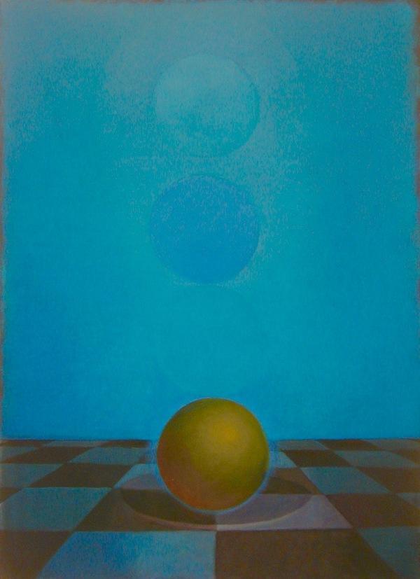 "Linda Hope, ""Sphere & Circles I"""