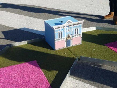 Mini-golf feature honoring the Bayview Opera House