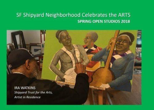 Ira Watkins Spring Open Studios Banner|Theo Ellington|London Breed|