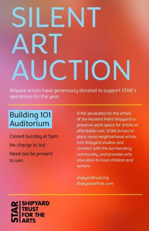 2019 STAR Auction poster
