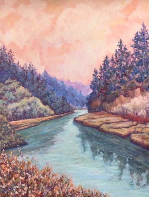 "Maeve Croghan ""Big River Sky"""