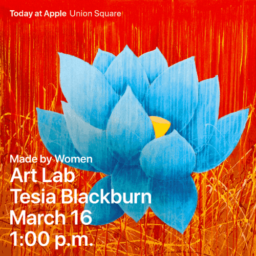 Tesia Blackburn ArtLab poster