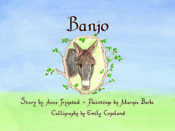 Banjo, illustrated by Margie Burke, book for children