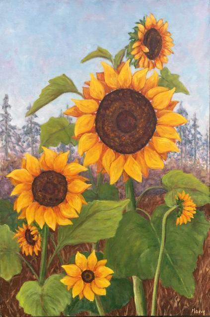 "Maeve Croghan, ""Sunflower Joy"""