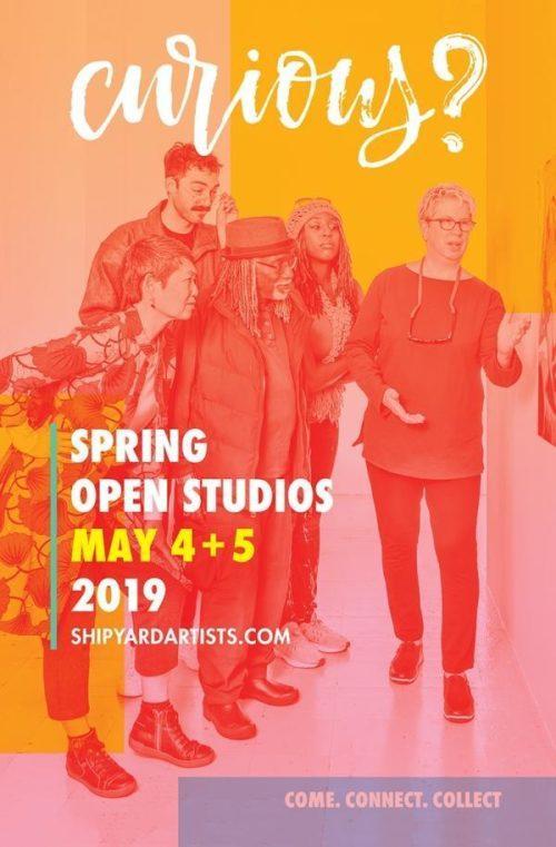 Spring Open Studios 2019 logo