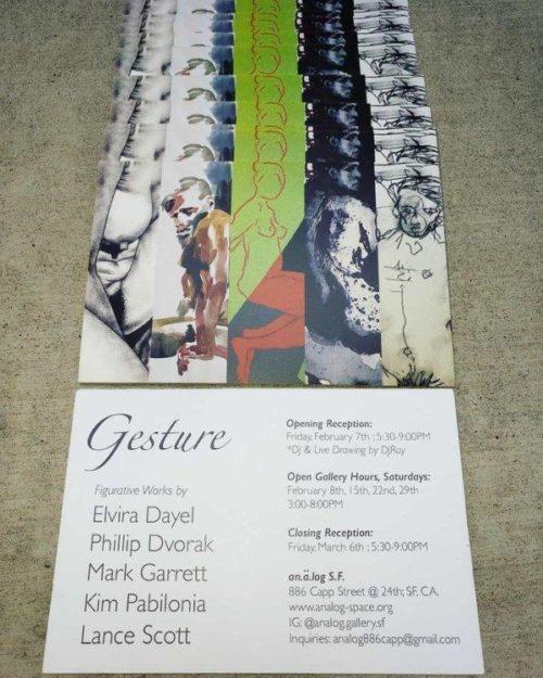 Gestures show poster (Elvira Dayel)||