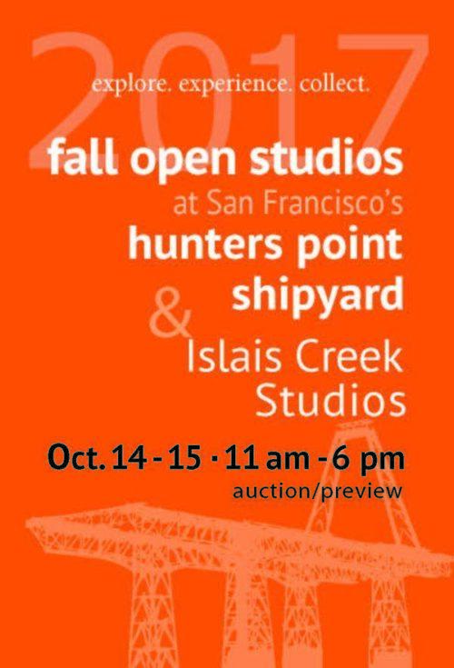 Fall Open Studios 2017 Postcard