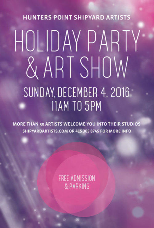 HPSA Holiday Party and Art Show
