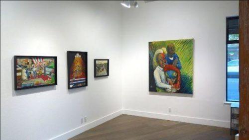 Ira Watkins show at George Lawson Gallery