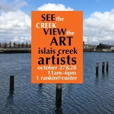 Islais Creek 2018 Fall Open Studios poster|Islais Creek Open Studios 2018 flyer