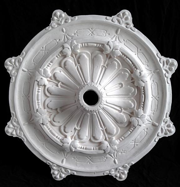 Ceiling Medallion, part of Lorna Kollmeyer's archive of San Francisco's decorative plaster heritage