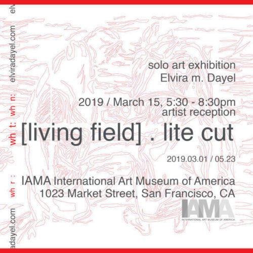 Elvira Dayel show postcard|