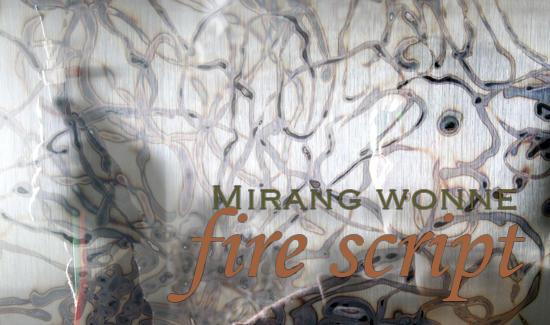 Art instalation by Mirang Wonne