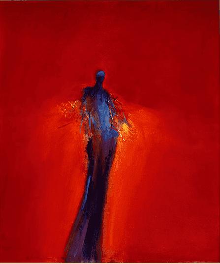 Ed Handelman painting
