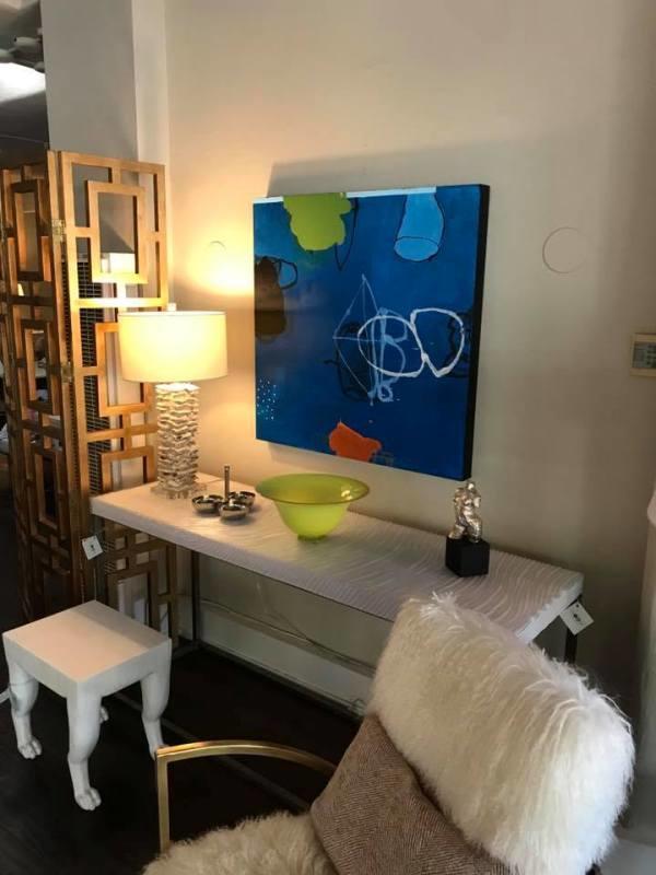 Silvia Poloto installation at Ruby living