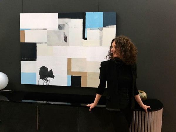 Silvia Poloto installation at Water Music