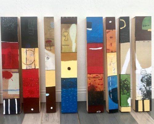 Silvia Poloto at stARTup|Silvia Poloto installation at Water Music|Silvia Poloto installation at Ruby living|Silvia Poloto installation at Ruby living