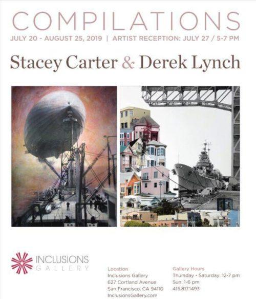 """Stacey Carter """"Compilations"""" poster"""