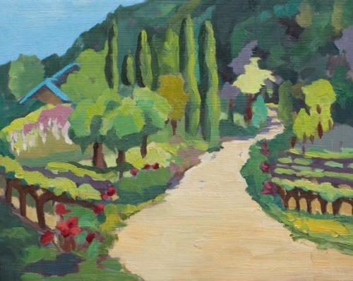 """Portola Vineyards"" by Jenny M.L. Wantuch"