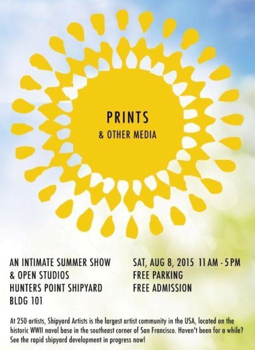 Summer Show flyer||Summer show flyer