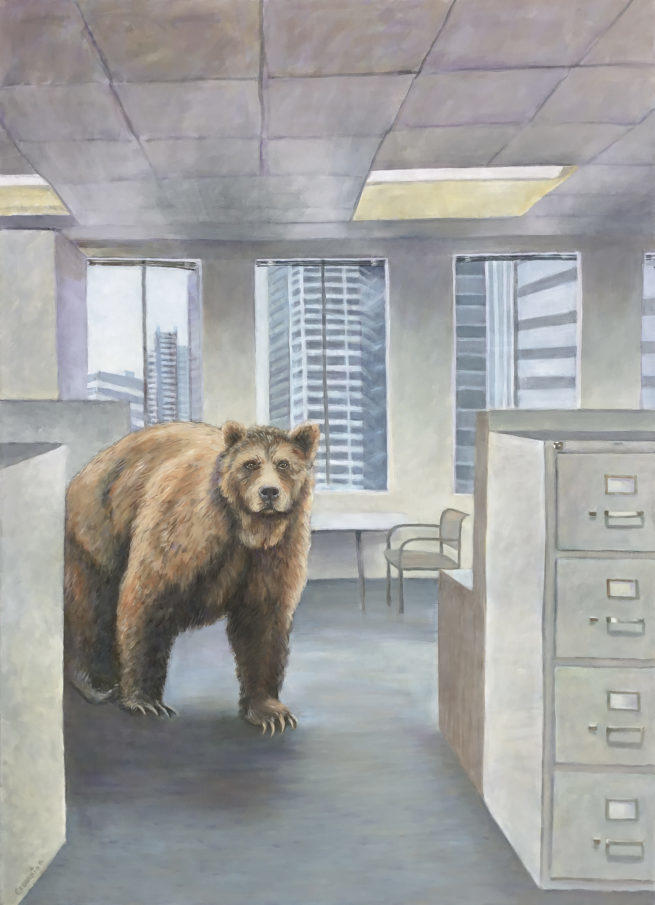 Bear in Office