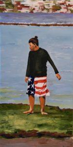 Mexican/American, 12X24 inches, oil on canvas, $600.00