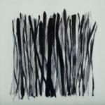 """Kay Kang, R(Evolution), 18""""x18"""", oil on panel"""