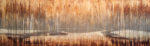 Autumn Waters 21x68