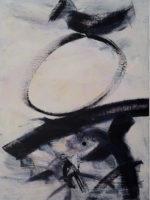 """Kay Kang Gestural Study VII, 24""""x18"""""""