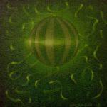 "Planet R., Canvas, 6 x 6"""