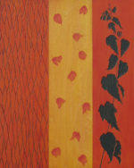 Arbutus - 20 in. x 16 in. - Mixed Media on Carved Wood Panel - Sold