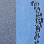Bernal/Noe - 30 in. x 30  in. - Mixed Media on Carved Wood Panel - Available