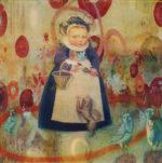 "Cherry Girl | 10 x 10"" | acrylic"