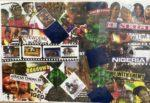 No.5   African Cinema    Nollywood    Collage   Size  12x17