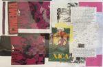 No. 1  Brazilian Placemat Series    Collage   Size  12 x 17