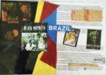 No. 3 Brazilian Placemat Series    Collage    Size 12 x 17