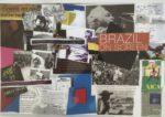 No. 4 Brazilian Placemat Series   Collage  Size 12 x17