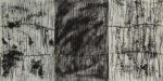 "Kay Kang, Untitled -Triptch 36""x72"" Mixed media"