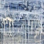 Nikki Vismara_Jolie tristesse (Cuba)_12x12_acrylic, epoxy, & mirror tile on panel_2017 small